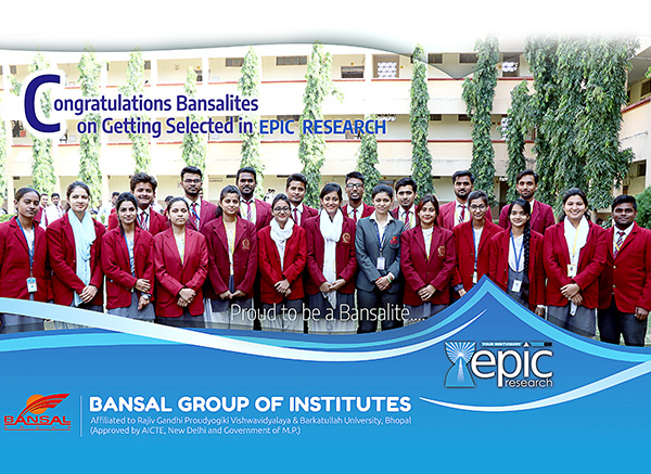Campus Drive by Epic Research for 2019 Batch